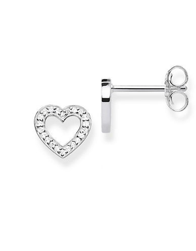Thomas Sabo Heart Small Stud Earrings-SILVER-One Size