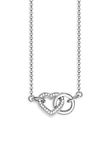 Thomas Sabo Forever Together Small Necklace-SILVER-One Size