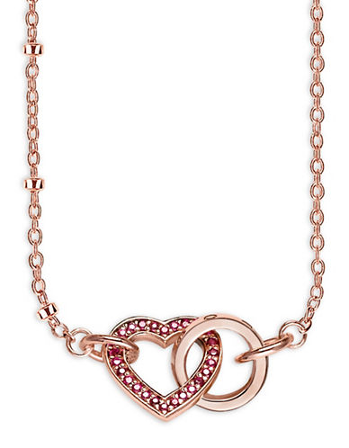 Thomas Sabo Together Heart Necklace-ROSEGOLD-One Size