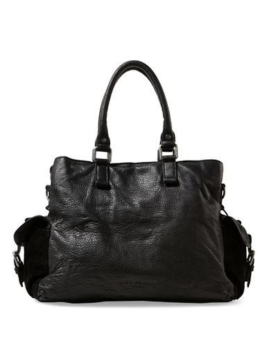 Liebeskind Paige Leather Shoulder Bag-BLACK-One Size