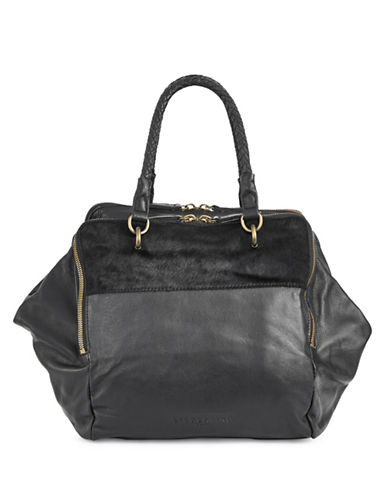 Liebeskind Leather Calf Hair Shoulder Bag-PONY-One Size