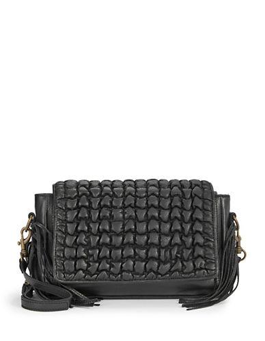 Liebeskind Nisha Vintage-Look Shoulder Bag-BLACK-One Size plus size,  plus size fashion plus size appare