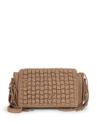 Liebeskind Nisha Vintage-Look Shoulder Bag-TOFFEE-One Size plus size,  plus size fashion plus size appare
