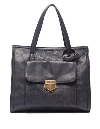Liebeskind Emlyn Leather Shoulder Bag-BLACK-One Size