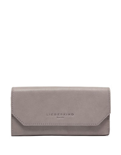 Liebeskind Onna Pebbled Leather Wallet-DONKEY-One Size