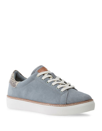 Liebeskind Low-Top Suede Sneakers-LIGHT BLUE-EUR 39/US 9
