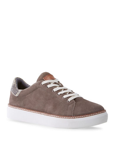 Liebeskind Low-Top Suede Sneakers-CLOUD-EUR 39/US 9
