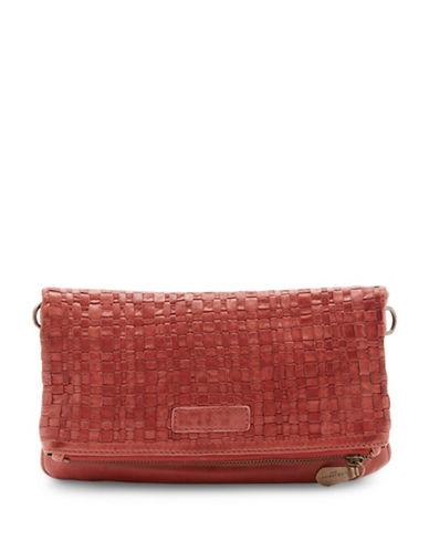Liebeskind Aloe Leather Fold-Over Bag-LIPSTICK-One Size