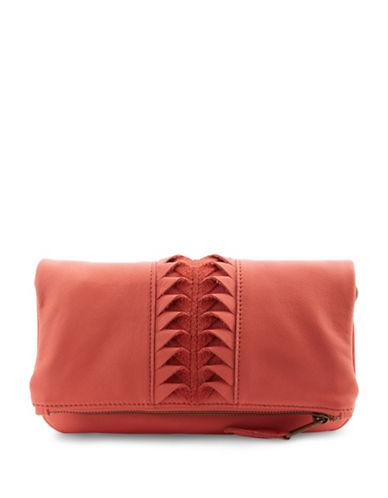 Liebeskind Aloe B Laser Cut Leather Crossbody Bag-LIPSTICK-One Size