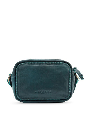 Liebeskind Angelica Leather Crossbody Bag-GREEN-One Size