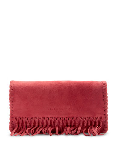 Liebeskind Lavina Laced Crossbody Bag-LIPSTICK-One Size