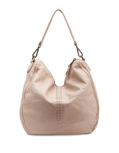 Liebeskind Leather Hobo Bag-LIGHT POWDER-One Size