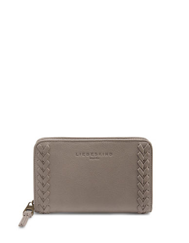 Liebeskind Nora Leather Zip Around Wallet-NEW FLINT-One Size