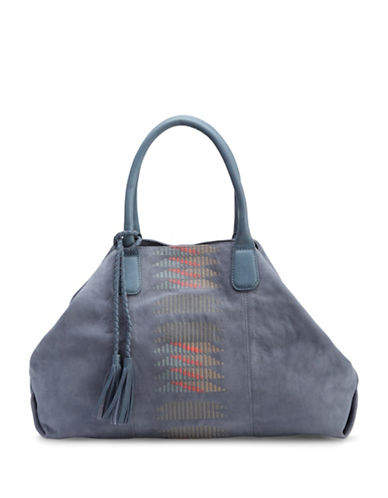 Liebeskind Chelsea Suede Shopper-BLUE-One Size