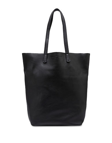 Liebeskind Viki Leather Tote-BLACK-One Size 88649674_BLACK_One Size