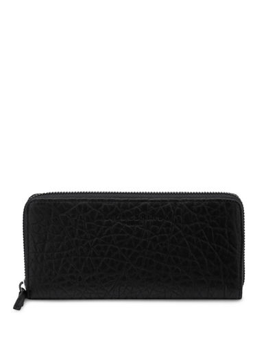 Liebeskind Sally Pebble Leather Continental Bag-BLACK-One Size