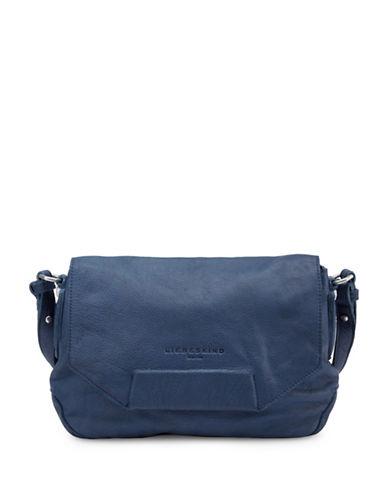 Liebeskind Yakote Studded Leather Crossbody Bag-BLUE-One Size