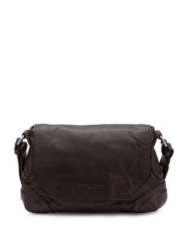 Liebeskind Saporo Leather Crossbody-BROWN-One Size