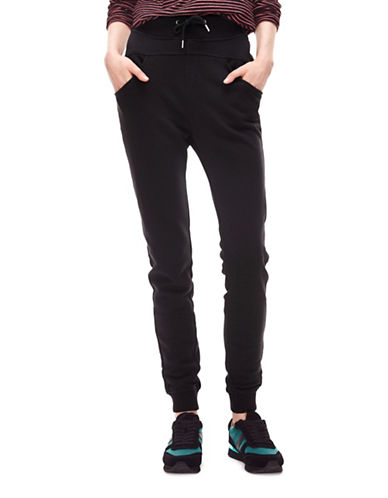 Liebeskind Sweater Pants-BLACK-X-Small