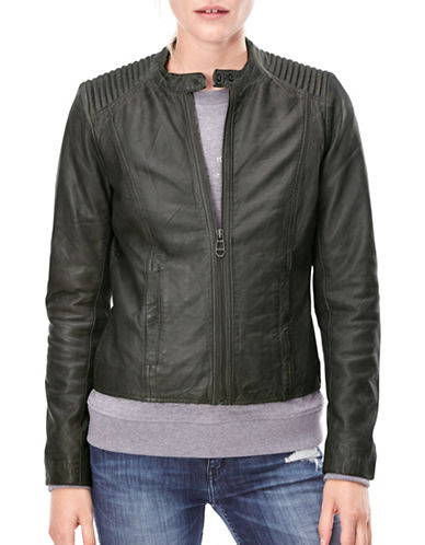 Liebeskind Leather Jacket-GREY-Large 88799235_GREY_Large