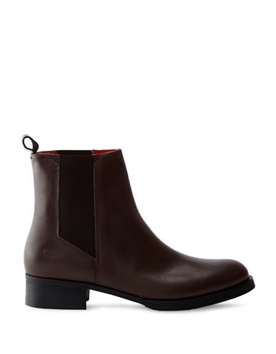Liebeskind Leather Chelsea Boots-BROWN-EUR 36/US 6