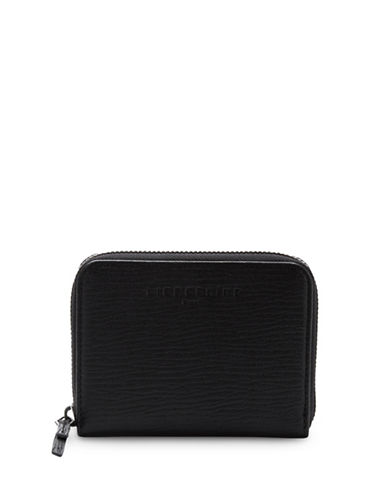 Liebeskind Connyr Crosta Zip Wallet-BLACK-One Size