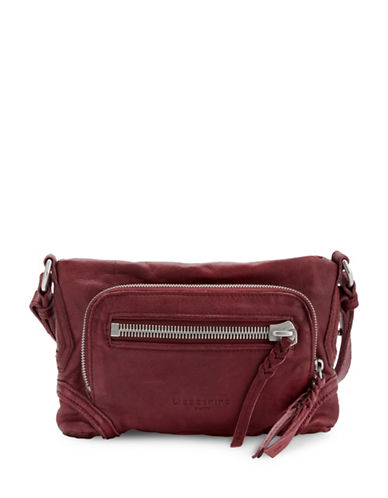 Liebeskind Suita Crossbody-BURGUNDY-One Size