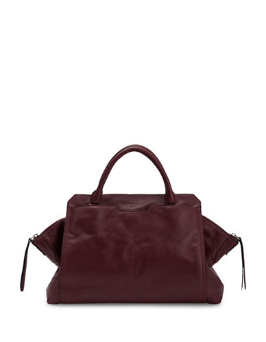Liebeskind Fuji Nappa Leather Satchel-BURGUNDY-One Size 88749548_BURGUNDY_One Size