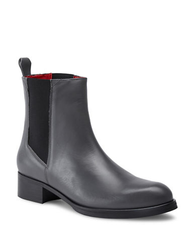 Liebeskind Leather Chelsea Boots-GREY-EUR 38/US 8