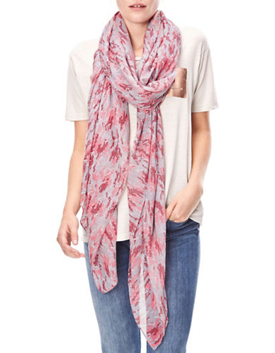 Liebeskind Camou Wave Scarf-PINK-One Size