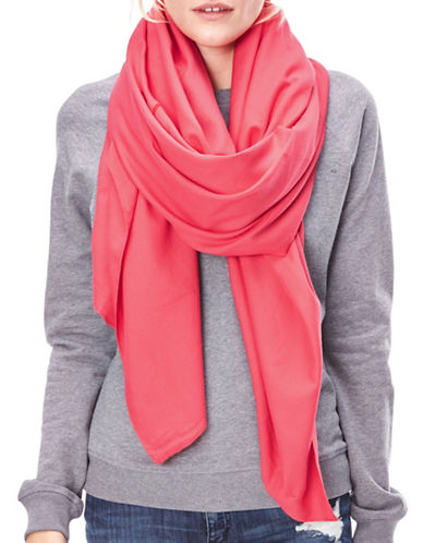 Liebeskind Numbercode Print Scarf-RED-One Size