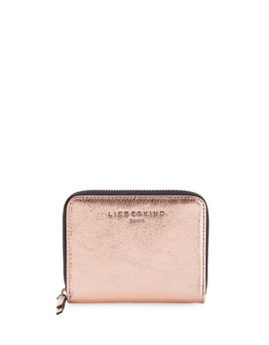 Liebeskind Connyr Crosta Zip Wallet-METALLIC-One Size