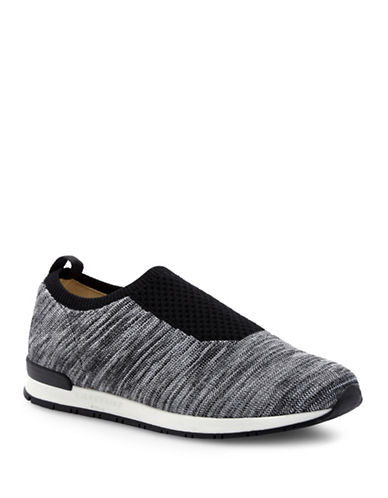 Liebeskind Space-Dyed Knit Sneakers-BLACK-EUR 40/US 10