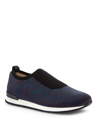 Liebeskind Space-Dyed Knit Sneakers-GREY/MULTI-EUR 39/US 9