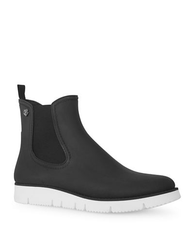 Liebeskind Snake-Print Rain Boots-BLACK-EUR 39/US 9