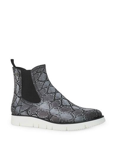 Liebeskind Snake-Print Rain Boots-GREY-EUR 41/US 11