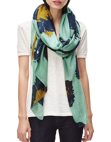 Liebeskind Leo Big Scale Scarf-GREEN-One Size