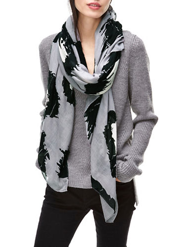 Liebeskind Leo Big Scale Scarf-GREY-One Size