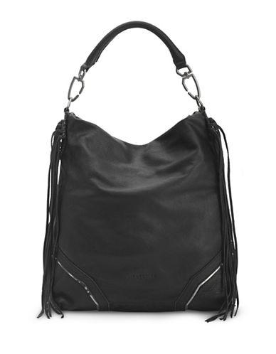 Liebeskind Tokio F7 Leather Hobo Bag-BLACK-One Size
