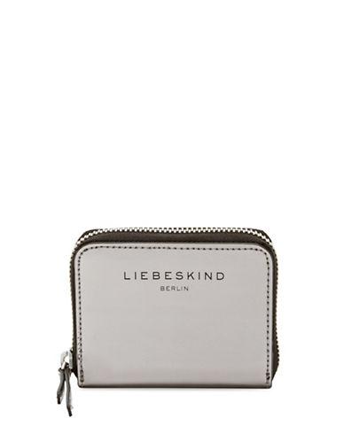 Liebeskind Dot F Zip Wallet-GREY-One Size