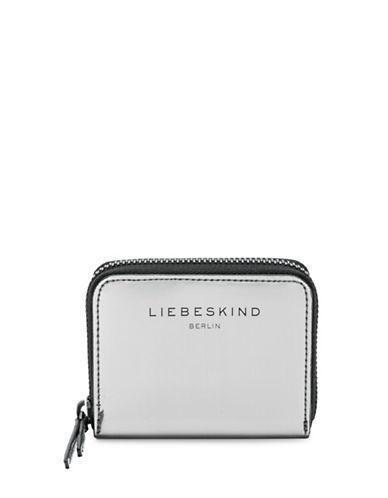 Liebeskind Dot F Zip Wallet-SILVER-One Size
