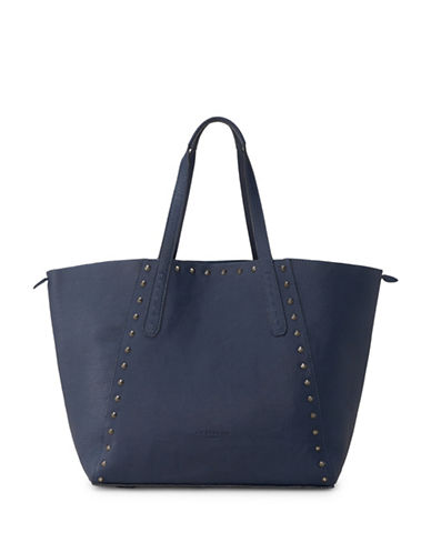 Liebeskind Niigata F7 Leather Shopper-BLUE-One Size