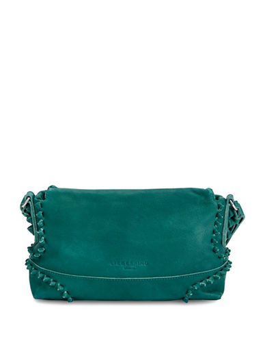 Liebeskind Sapporo Leather Shoulder Bag-GREEN-One Size