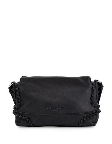 Liebeskind Sapporo Leather Shoulder Bag-BLACK-One Size