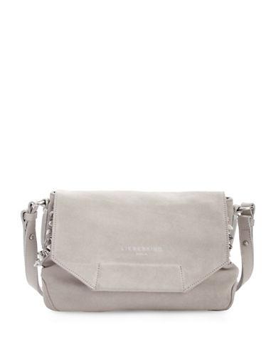 Liebeskind Yokote Leather Crossbody Bag-GREY-One Size