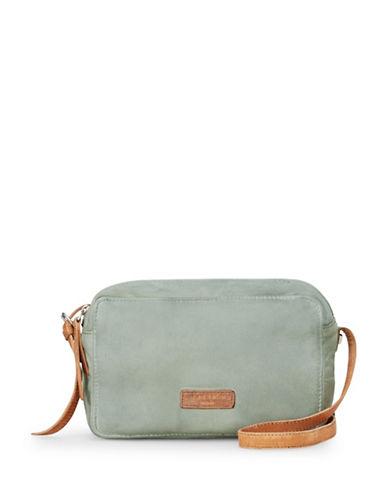 Liebeskind Biskra Leather Crossbody Bag-GREY-One Size
