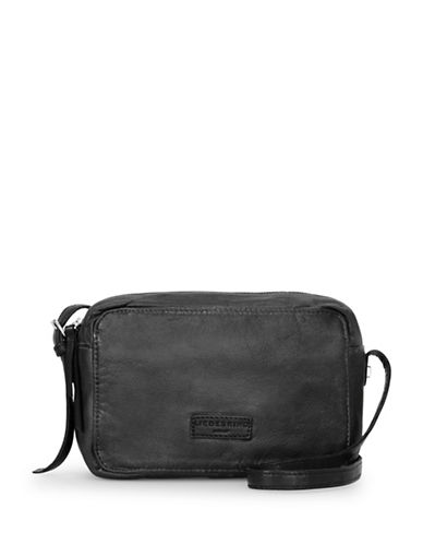 Liebeskind Biskra Leather Crossbody Bag-BLACK-One Size