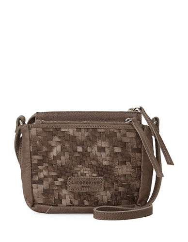 Liebeskind Katima Leather Crossbody Bag-BROWN-One Size