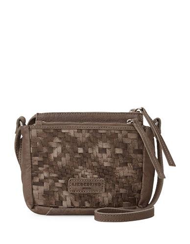 Liebeskind Katima Leather Crossbody Bag-BROWN-One Size