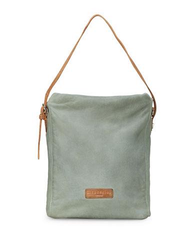 Liebeskind Kigali Leather Messenger Bag-GREY-One Size